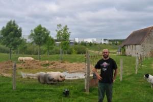 Au coeur de la  vallée de la mort , une ferme bio s'installe sur un site industriel