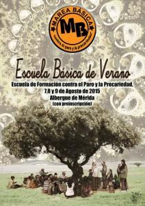 Escuela Básica de Verano contra paro, precariedad y exclusión social