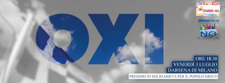 Presidio di solidarietà con il popolo greco