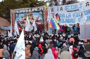 """Milagro Sala: """"Vemos en las caras de los jóvenes las ganas de seguir reconstruyendo nuestro país»"""