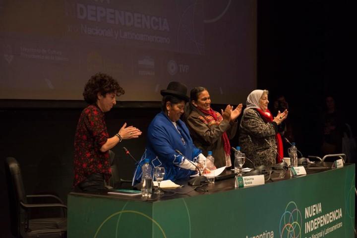 Milagro Sala disertó en el Foro Nueva Independencia: «Lo único que queríamos era el Buen Vivir»