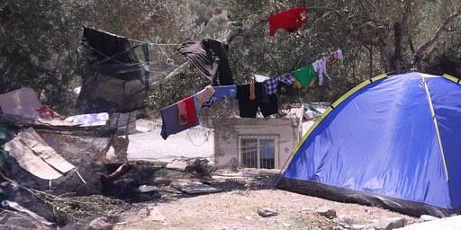 Unhaltbare Zustände für Flüchtlinge auf Lesbos