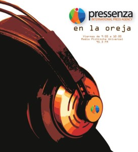 Noticiero semanal de @RadioPressenza en la radio pública ecuatoriana