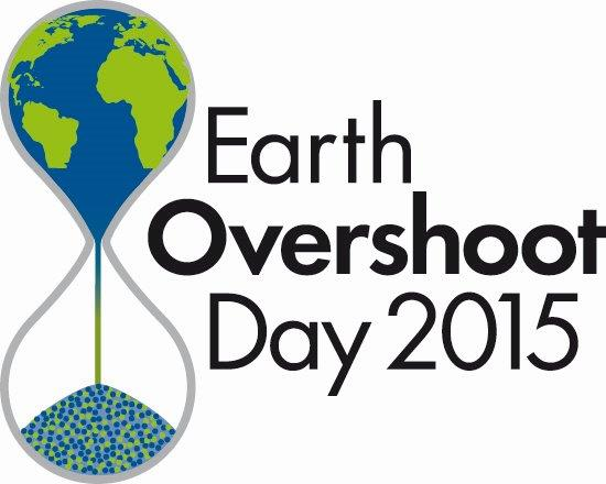August 13th is Earth Overshoot Day this year