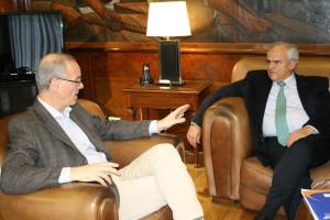 Gollan y Samper analizaron temas prioritarios de la agenda de la Unasur en materia de salud