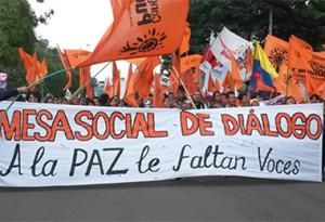 Tras los acuerdos de La Habana se impone abrir canales a la participación de las mayorías