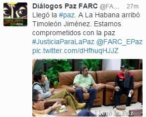 Es inminente el acuerdo definitivo de paz para Colombia