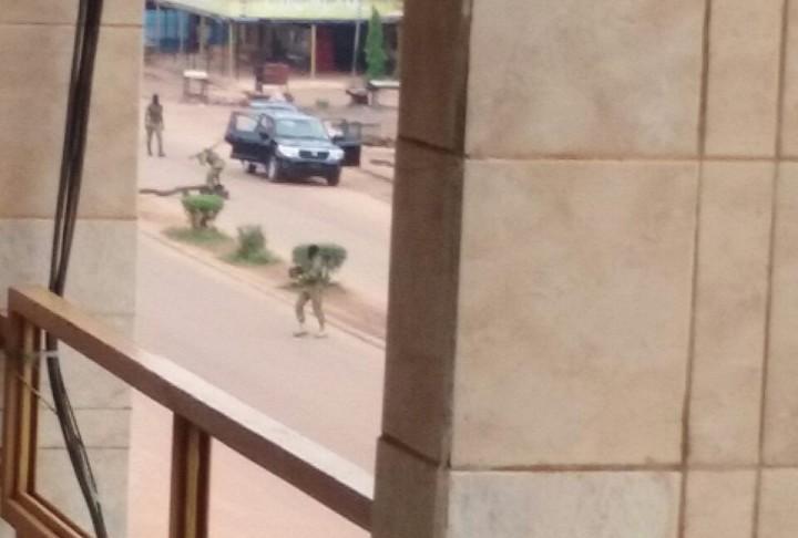 Ouagadougou, Burkina Faso : photos de la résistance