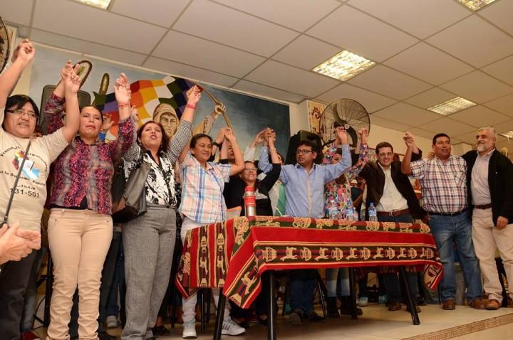 El Frente Unidos y Organizados de Jujuy presentó a sus candidatos