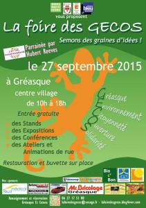 Foire des GECOS (Gréasque Environnement Citoyenneté Ouverture Solidarité)