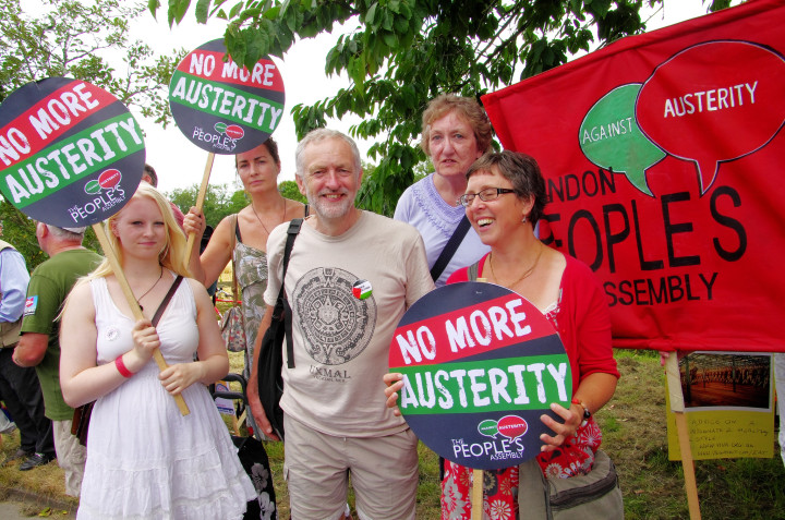 """New leader of the UK Labour Party, Jeremy Corbyn: """"We are one world"""""""