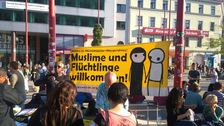 Vienna supports the European Day of Action for Refugees