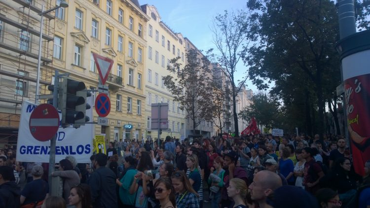 European Day of Action for Refugees in Vienna