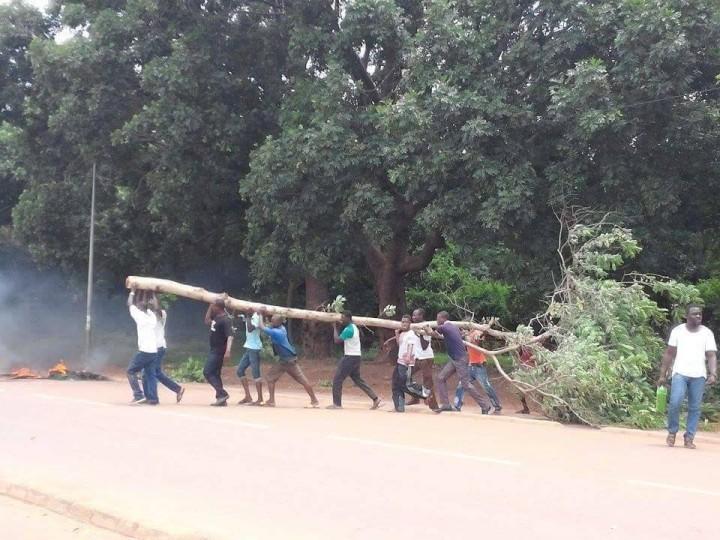 Burkina Faso, Ordini di lotta per Ouagadougou