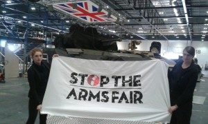 Stopping the arms fair in London