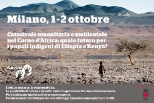 Emergenza umanitaria e ambientale nel Corno d'Africa