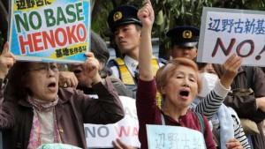 Okinawa acudirá a los tribunales para bloquear nueva base de EEUU
