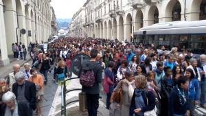 Protesta degli Scalzi contro l'Ungheria