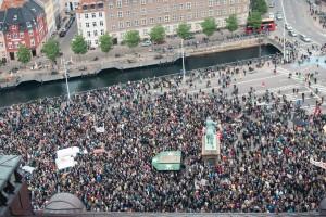 Manifestações de apoio aos Refugiados por toda a Europa