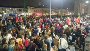 Nós em Milão com os refugiados eritreos, sírios, iraquianos, somalis…