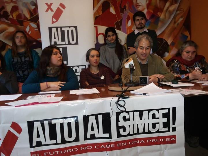 Chile: Campaña «Alto al Simce»