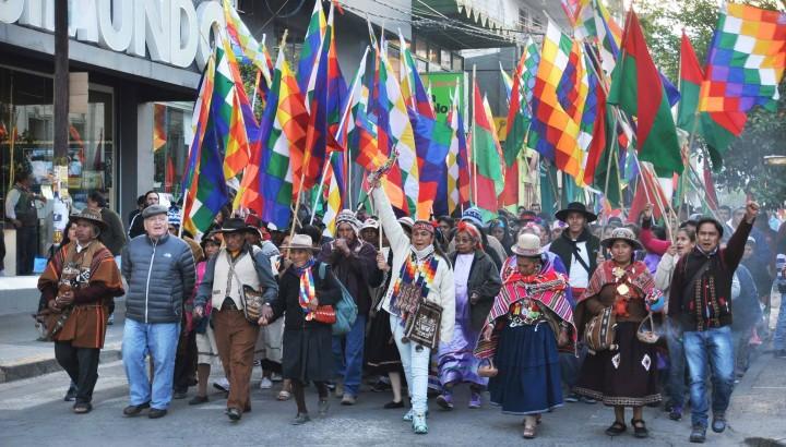 Pueblos originarios conmemoraron el día del respeto a la diversidad cultural