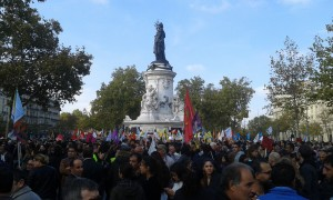 Paris solidaire avec les pacifistes d'Ankara