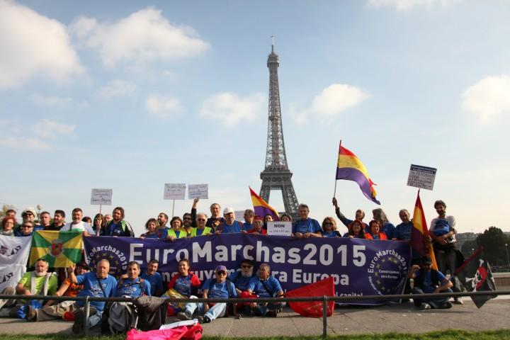 EuroMarce da Marsiglia a Parigi