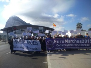 UK bans the EuroMarches from entering Gibraltar