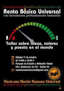 17O: Taller sobre Renta Básica Universal en Parque Toledo