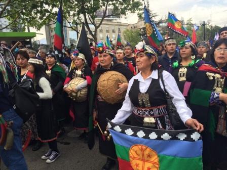 La Marcha por la recuperación de la memoria ancestral