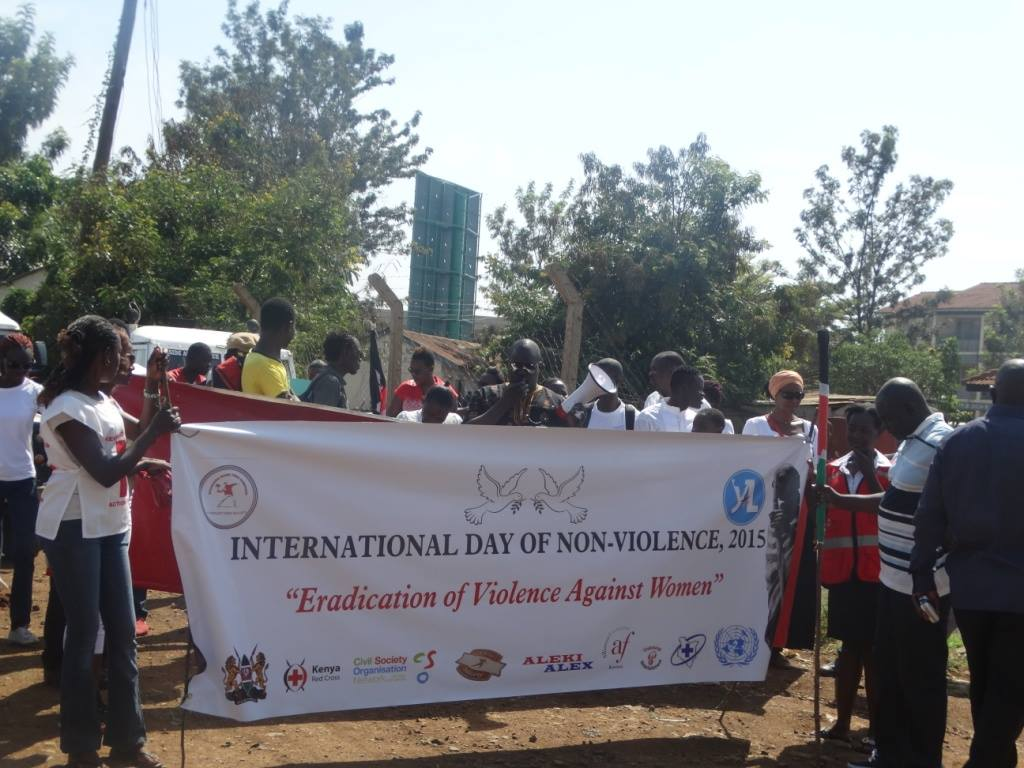 International Day of Nonviolence Kenya 2