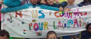 Les enfants ont couru 752 kilomètres pour la paix