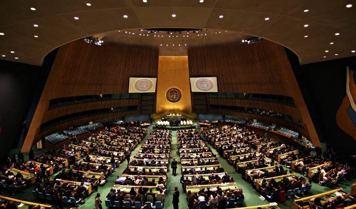 The week the world agreed to make nuclear weapons illegal