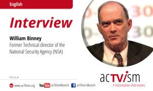 VIDEO: Exklusiv-Interview mit William Binney, ehemals technischer Direktor der NSA
