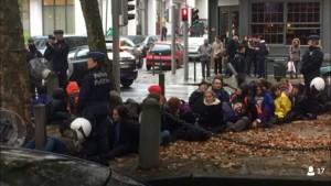 Treinta detenidos de las EuroMarchas, en Bruselas