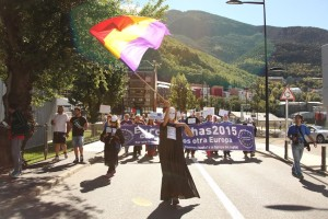 EuroMarches 2015 – day 7 – Barcelona-Andorra-Toulouse