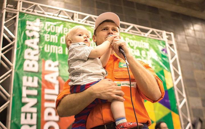 Foto: ISIS MEDEIROS/BRASIL POPULAR Setores progressistas se unem na defesa da soberania, da Petrobras e contra ogolpismo: atentos às manobras da direita