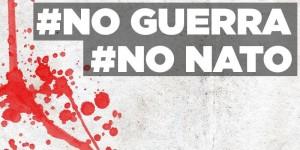 Flash mob a Roma contro la Trident Juncture