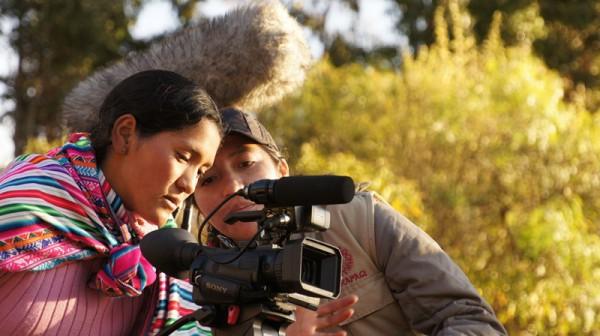 Cortometraje de joven ayacuchana es premiado en festival de cine indígena, en Canadá