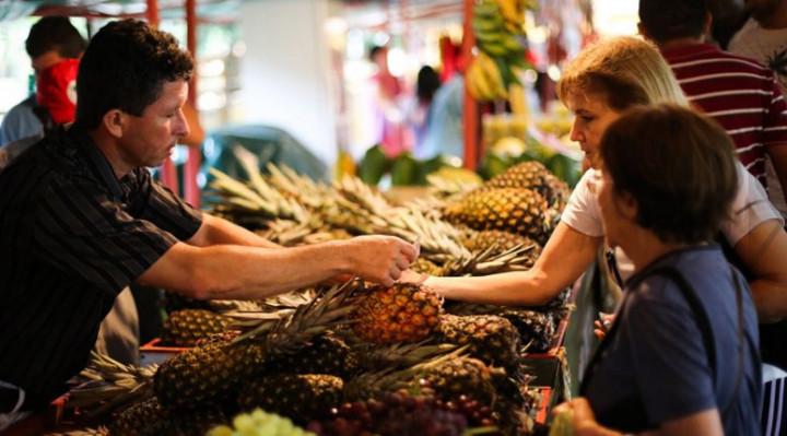 São Paulo – Feira da reforma agrária, em São Paulo, mostra diversidade da produção brasileira