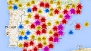 La Sareb es nuestra: un mapa de la PAH con más de 30.000 viviendas vacías del banco malo