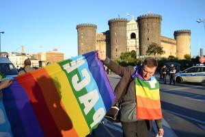 Italien: Nationale Mobilmachung No Trident Juncture 2015