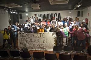 Constituido en Barcelona el primer Sindicato Popular de Vendedores Ambulantes