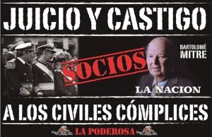 Repudios al editorial «No más venganza» que respalda a genocidas del diario argentino La Nación