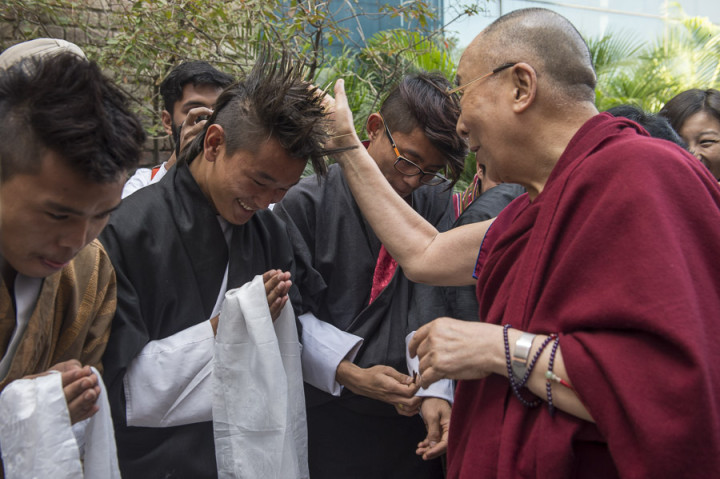 """Dalai Lama:  """"…do not expect help from God, Buddha or the governments"""""""