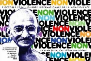La non-violence,  un engagement  de tous les instants