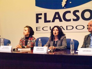 Lancement du deuxième livre de Pressenza à la FLACSO-Équateur