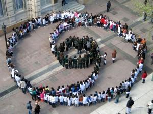 Campanje: Oproep tot Vrede en geweldloosheid in de sociale netwerken