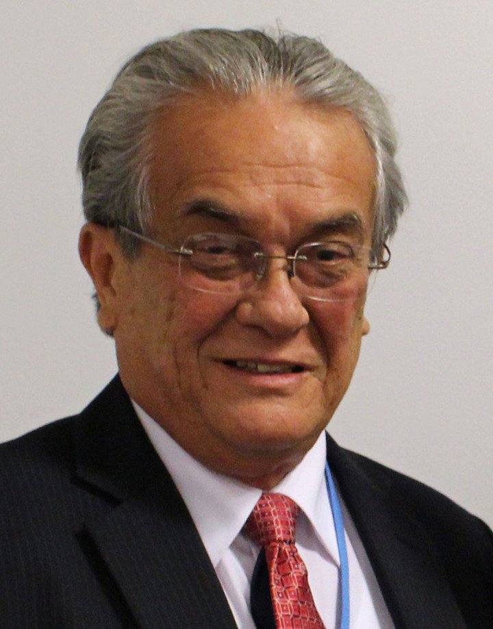 Tony De Brum, Minister of Foreign Affairs of the Marshall Islands: a brave struggle for nuclear disarmament